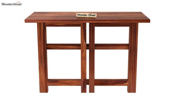 Calvin Study Table (Honey Finish)-7