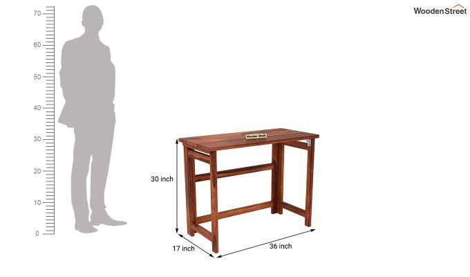 Calvin Study Table (Honey Finish)-10