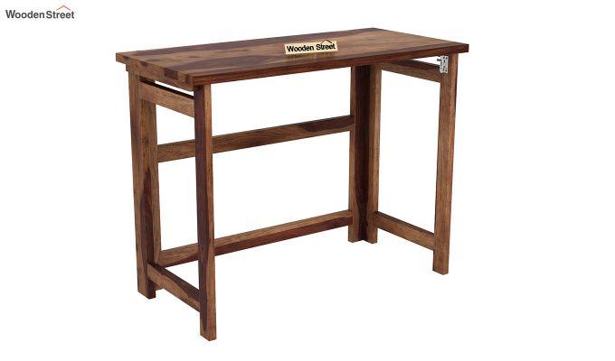 Calvin Study Table (Teak Finish)-2