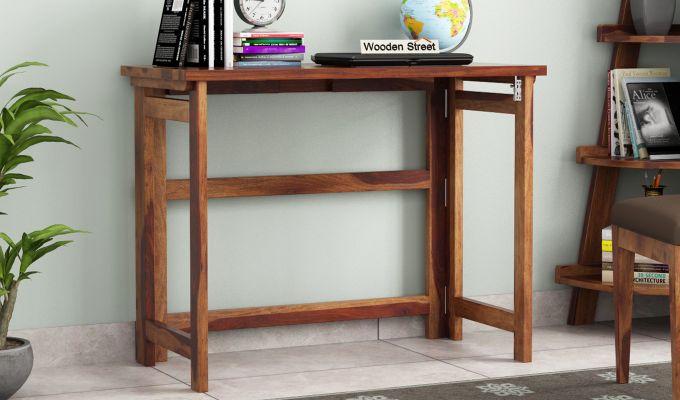 Calvin Study Table (Teak Finish)-1
