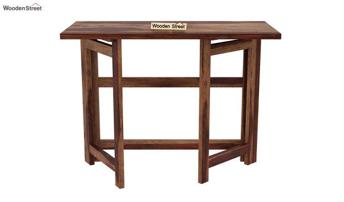 Calvin Study Table (Teak Finish)-5