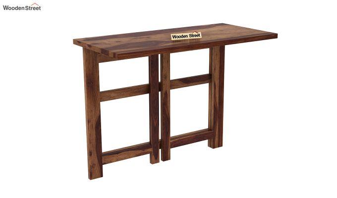 Calvin Study Table (Teak Finish)-6