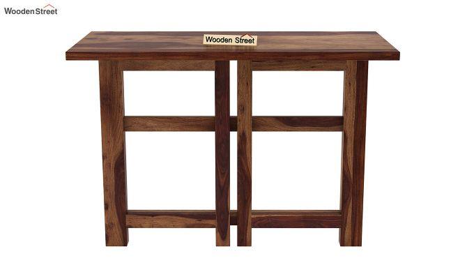 Calvin Study Table (Teak Finish)-7