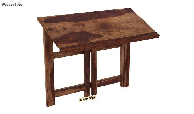 Calvin Study Table (Teak Finish)-8