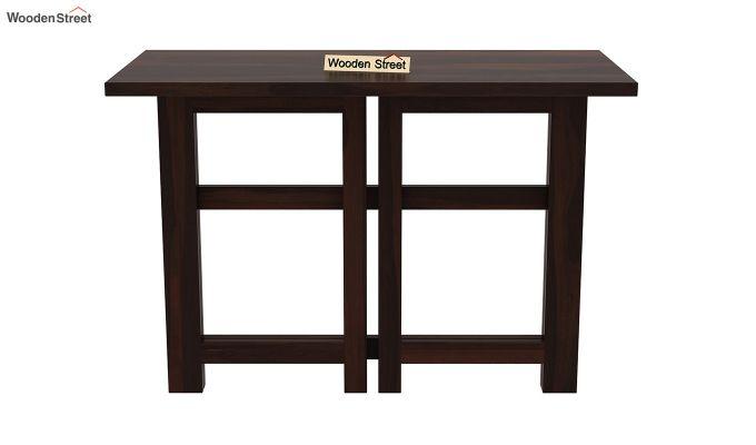 Calvin Study Table (Walnut Finish)-7