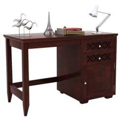 Cambrey Study Table (Mahogany Finish)