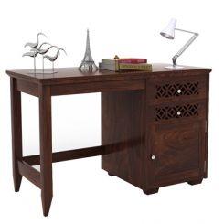 Cambrey Study Table (Walnut Finish)