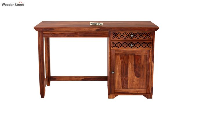 Cambrey Study Table (Honey Finish)-3