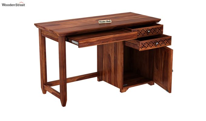 Cambrey Study Table (Honey Finish)-4