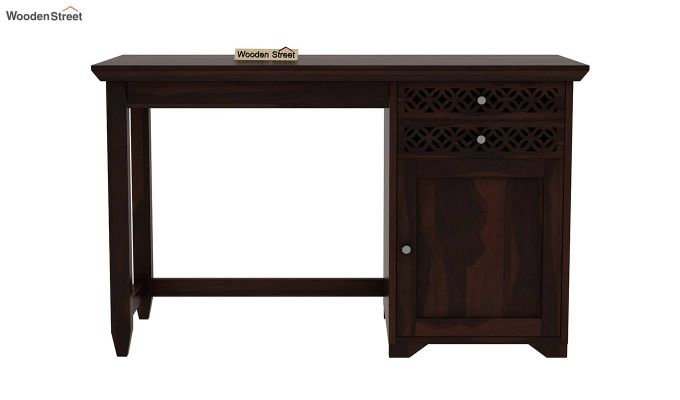 Cambrey Office Table (Walnut Finish)-4