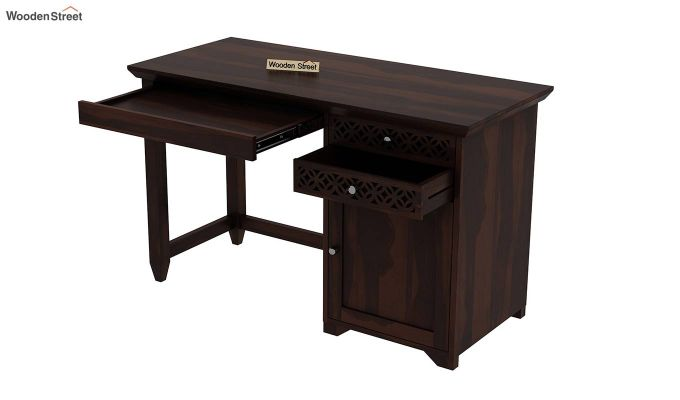 Cambrey Office Table (Walnut Finish)-7