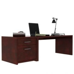 Cambria Study Table (Mahogany Finish)