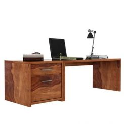 Cambria Study Table (Teak Finish)