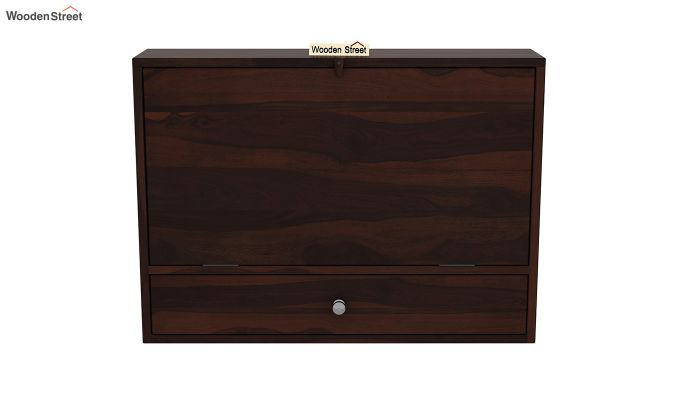 Carmel Wall Mounted Desk (Walnut Finish)-7