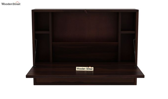 Carmel Wall Mounted Desk (Walnut Finish)-5