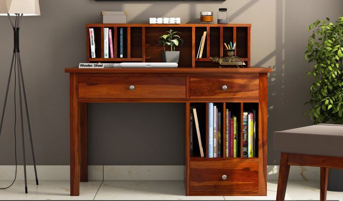 Buy Cassidy Study Table Online In India Wooden Street