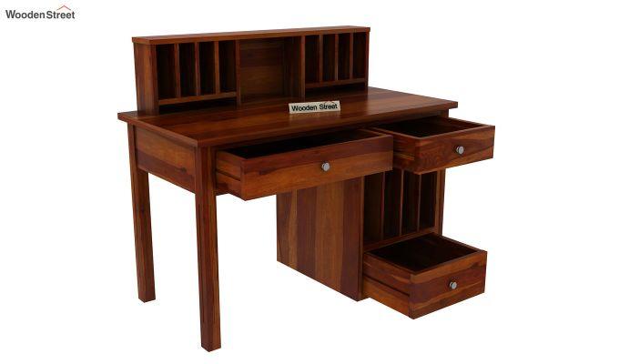 Cassidy Study Table (Honey Finish)-5