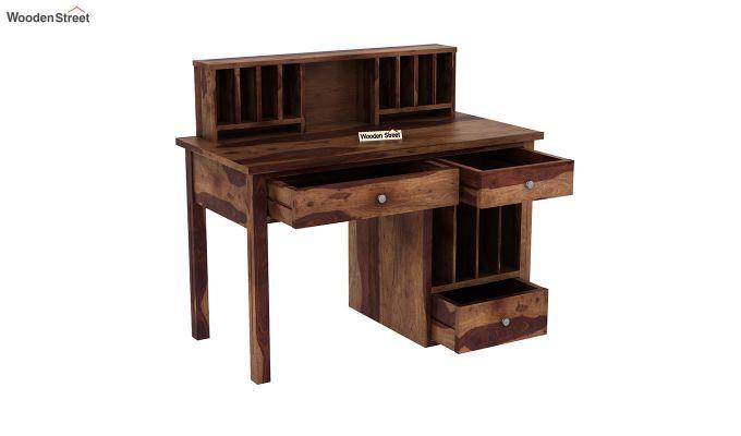 Cassidy Study Table (Teak Finish)-4