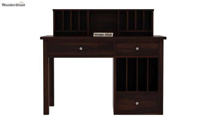 Cassidy Study Table (Walnut Finish)-4