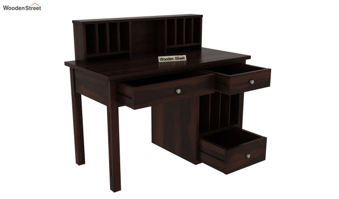 Cassidy Study Table (Walnut Finish)-5