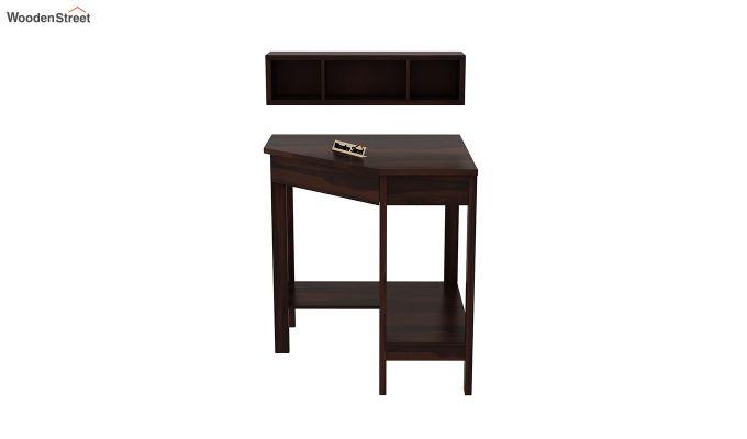 Eldor Kids Study Table with Shelf (Walnut Finish)-5