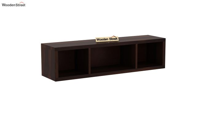 Eldor Study Table with Shelf (Walnut Finish)-7