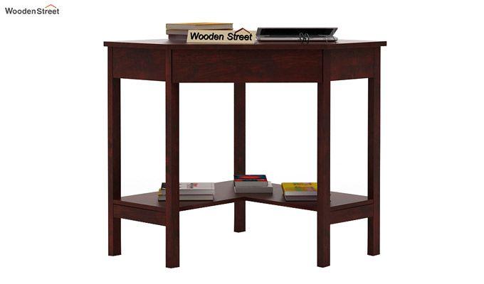 Eldor Study Table (Mahogany Finish)-1