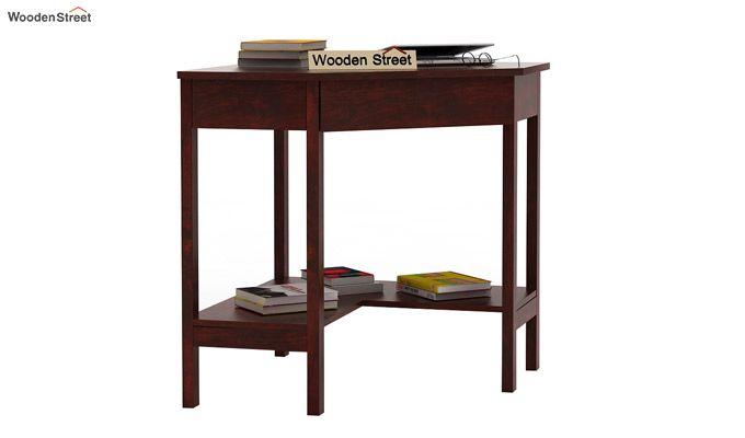 Eldor Study Table (Mahogany Finish)-2