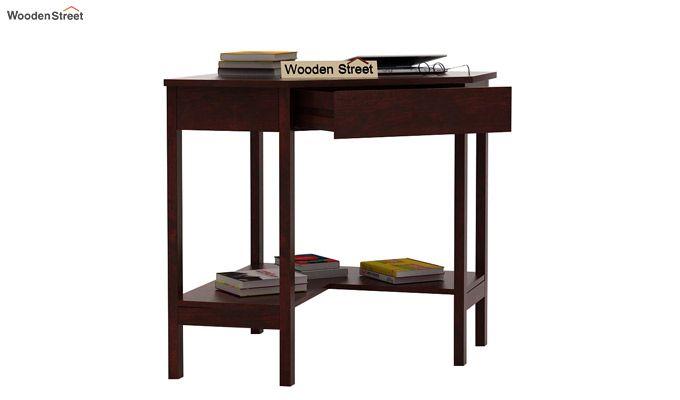 Eldor Study Table (Mahogany Finish)-3