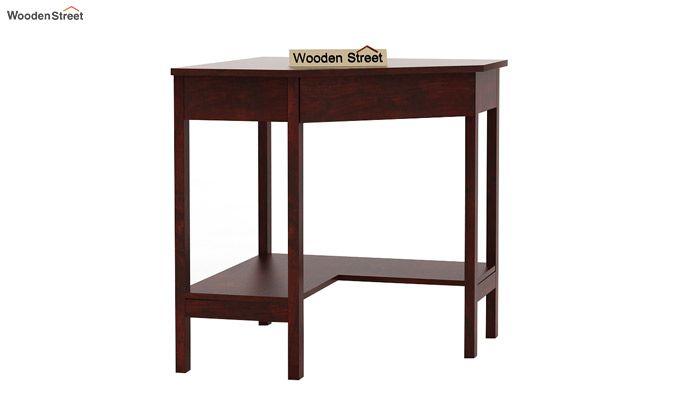 Eldor Study Table (Mahogany Finish)-5