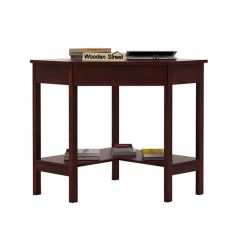 Eldor Study Table (Mahogany Finish)