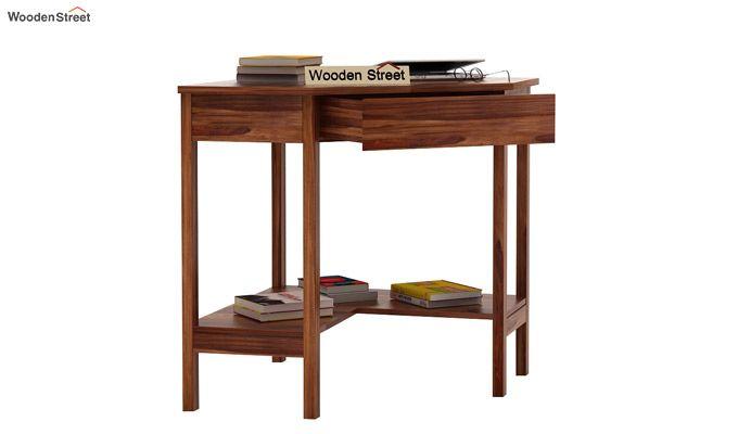 Eldor Study Table (Teak Finish)-3