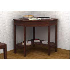 Eldor Study Table (Walnut Finish)