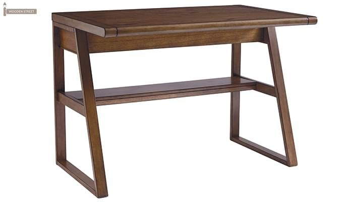 Elsom Study Desk (Teak Finish)-3