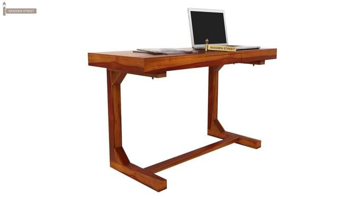 Enric Office Table (Honey Finish)-6