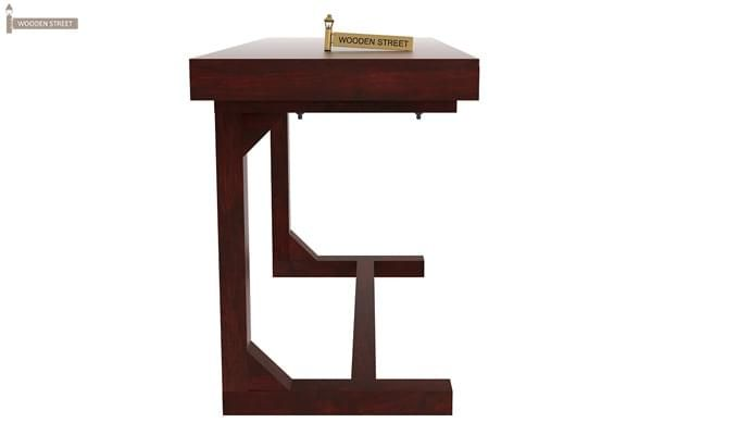 Enric Study Table (Mahogany Finish)-2
