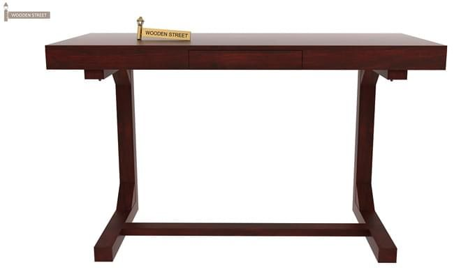 Enric Study Table (Mahogany Finish)-3