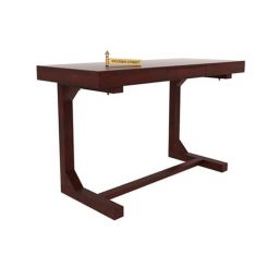 Enric Study Table (Mahogany Finish)