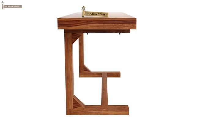 Enric Study Table (Teak Finish)-3