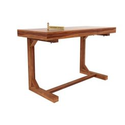 Enric Study Table (Teak Finish)