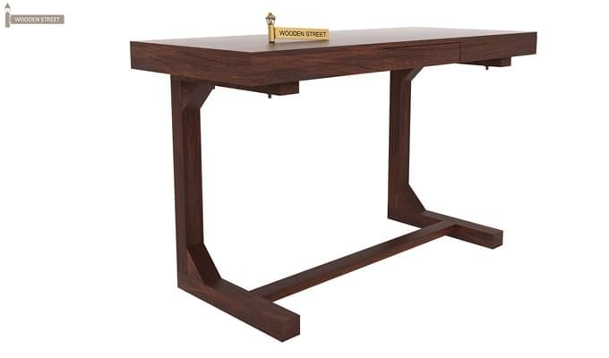 Enric Study Table (Walnut Finish)-1