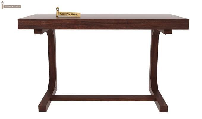Enric Study Table (Walnut Finish)-2