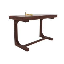 Enric Study Table (Walnut Finish)