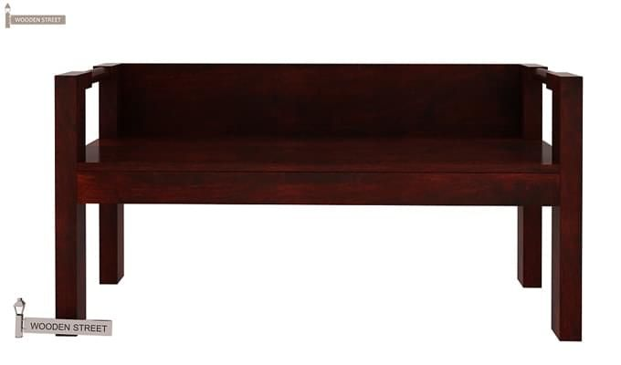 Evan Study Table Cum Laptop Table (Mahogany Finish)-2