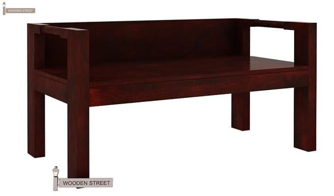 Evan Study Table Cum Laptop Table (Mahogany Finish)-3