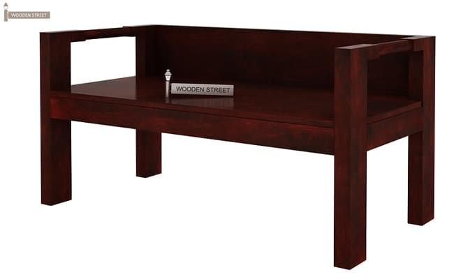 Evan Study Table Cum Laptop Table (Mahogany Finish)-4