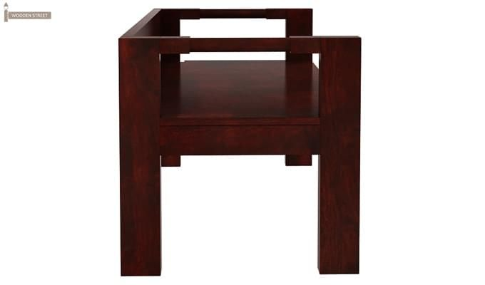 Evan Study Table Cum Laptop Table (Mahogany Finish)-5