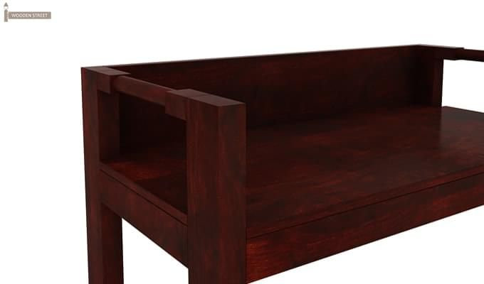 Evan Study Table Cum Laptop Table (Mahogany Finish)-6
