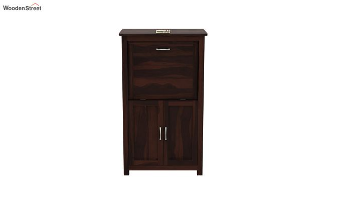 Feldon Study Table Cum Bookshelf (Walnut Finish)-5