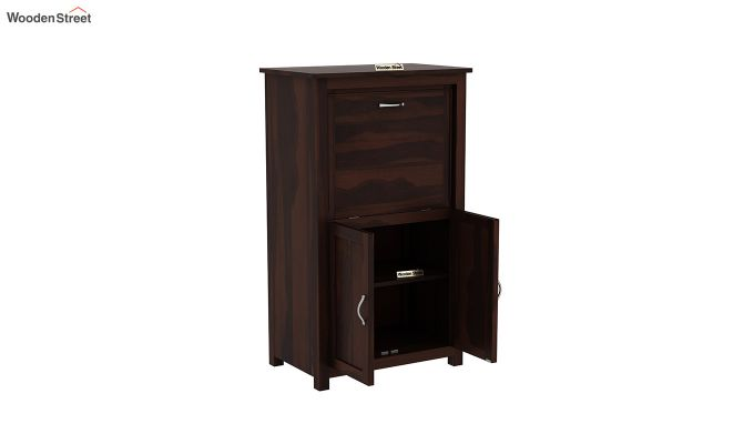 Feldon Study Table Cum Bookshelf (Walnut Finish)-4